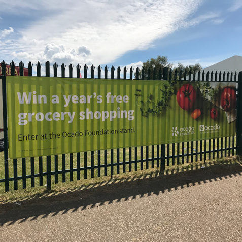 Ocado display banner